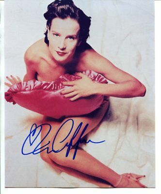 six feet under - Rachel Griffiths signed autograph NO RESERVE B5106