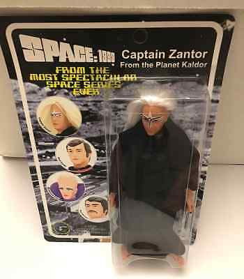 "Space 1999 8"" Figure Captain Zantor Mego Classic Tv 2004 Gerry Anderson"
