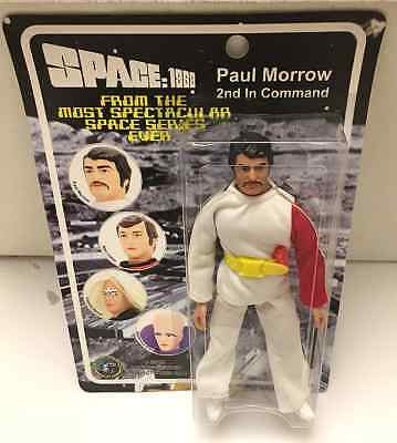 "SPACE: 1999 Paul Morrow 8"" Action Figure Mego 2004 Classic TV Toys"