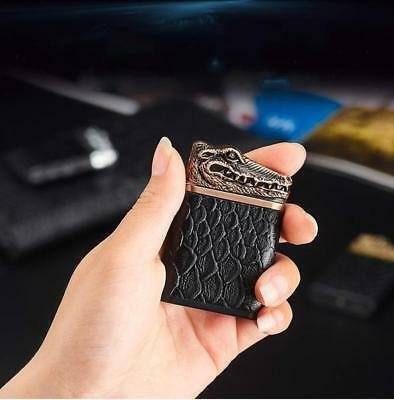 Inferno Crocodile Plasma Arc Lighter - No Gas, Wind&Water proof, Rechargeable