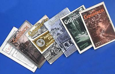 1914-1915 The B.F. GOODRICH MAGAZINE 6 issues Tires Automobiles