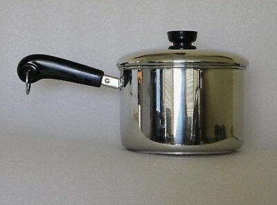 Revere Ware Tri-Ply 3 Quart Saucepan With  Lid