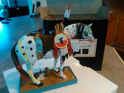 Trail of  Painted Ponies.War Pony.#1452.2003.5E.