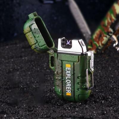 The Inferno Army Plasma Arc Lighter - No Gas, Waterproof, Rechargeable
