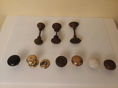 Mixed Lot Of Antique & Vintage Door Knobs!