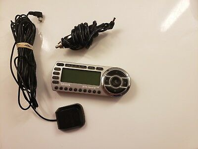 SIRIUS ST2-r Starmate satellite radio with accessories Tested! Car Charger +