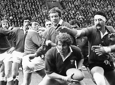 Wales v France 18/3/78 3 x Press photos. Bennett, Price, Martin, Squire etc.
