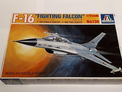 Italeri 130 F-16 Fighting Falcon Multi Role Fighter One Two Seater 1:72 USAAF