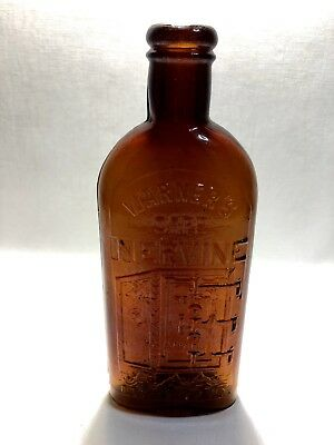 Warners Safe Nervine Bottle Rochester, N.Y Smaller Size