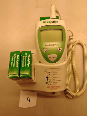 Welch Allyn SureTemp Plus 690 Thermometer with Oral Probe Holder and 75 Covers