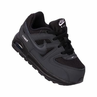 5a8a37205a Nike Air Max Command Flex (TD) Boys Toddler Shoes 844348-002 Black  Anthracite