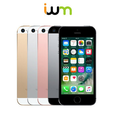 Apple iPhone SE 16GB 32GB 64GB 128GB - Space Gray / Silver / Gold / Rose Gold
