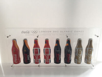 Coca Cola Coke Olympic Aluminium Acrylic Prototype Glass Bottle Coca-cola VIP