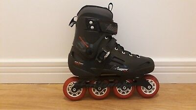 Rollerblades Fusion 84mm - Size 8.5 UK - 42.5 EU - Black - In great conditions