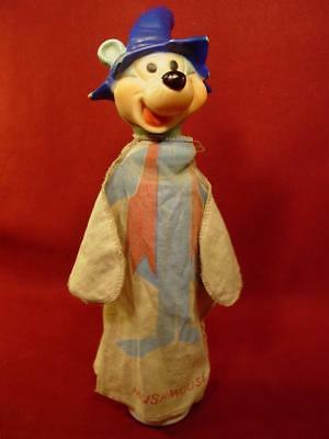 RARE VINTAGE 1960s IDEAL MUSH MOUSE HAND PUPPET HANNA BARBERA PUNKIN PUSS