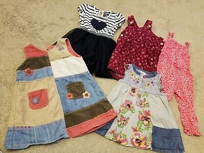 Bundle Of Baby Girls Clothes 9-12 Month Inc Next Dresses