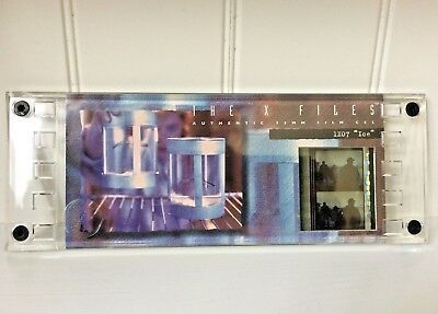 """X-Files Authentic 35 MM Film Limited Edition Film Cels # 1X07 """"Ice"""" ~ Cell 0603"""