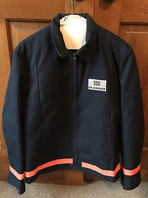 Vintage US Airways Ramp Jacket Size 40 Made In USA Aviation - Gently used Retro