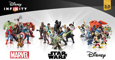 Cheap!! Disney Infinity 1.0-3.0 Figures - Choose Your Character -