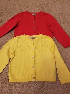 2 Baby Girl Next Cardigans 12-18 Month Never Worn