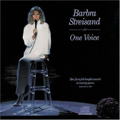 BARBRA STREISAND - One Voice (CD 1987) USA First Edition EXC