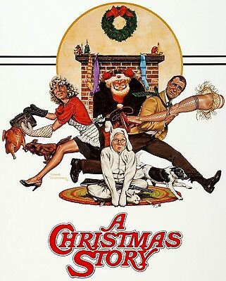 A Christmas Story Iron On Transfer For T-Shirt & Other Light Color Fabrics #2