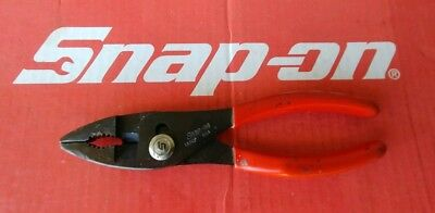 """Snap On Tools 7-1/2"""" Heavy Duty Combination Slip Joint/Cutter Pliers CP137"""