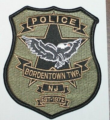 BORDENTOWN TOWNSHIP POLICE New Jersey NJ PD patch