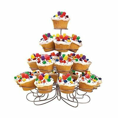 Cupcake Muffin Dessert Stand Holder Display Metal 4 Tier 23 Cupcakes