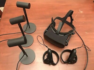 Oculus - Rift + Touch Virtual Reality Headset Bundle Plus Extra Sensor