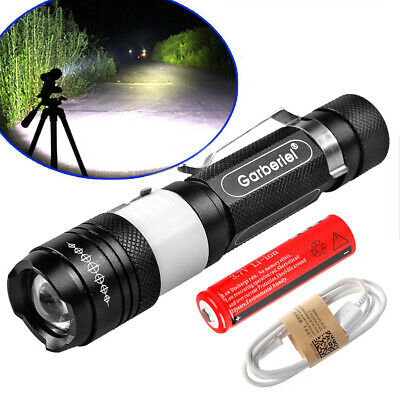 Garberiel 15000Lumen 5 Modes T6 LED USB Rechargeable 18650 Flashlight Torch Lamp