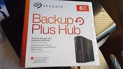 Seagate Backup Plus Hub 6TB External Hard Drive External HDD USB 3.0 - New