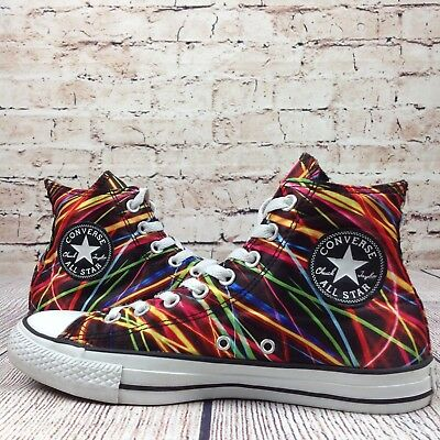 3035ddf5402 CONVERSE UNISEX CHUCK TAYLOR ALL STAR HI LIGHTS SNEAKER Women s 9 Men s 7
