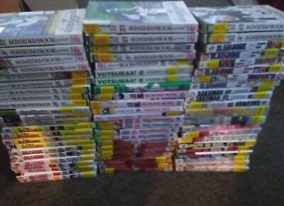 HUGE Bulk Lot of Manga Books FOR SALE
