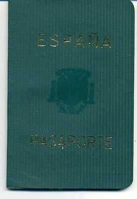 1967 Spain  Expired Canceled Collectible Passport, Travel Document