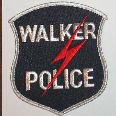 WALKER POLICE Michigan MI PD patch
