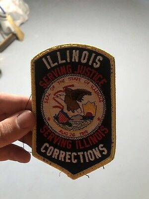 Illinois Department Of Corrections Patch