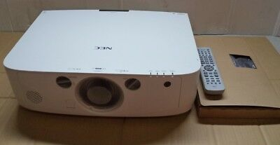 NEC NP-PA500XG Projector (unknown of 3000 Lamp Hours used, no lens installed)