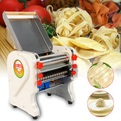 750W Electric Pasta Press Maker Noodle Machine Dumpling Commercial Home 240mm US