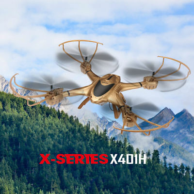 Pro X401H RC Drone Quadcopter with C4015 FPV camera Live Helicopter Hover 750mAh