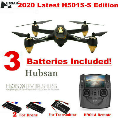 Hubsan X4 H501S Drone 5.8G Brushless RC Quadcopter with 1080P HD Camera GPS RTF