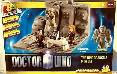 Doctor Who the Time of Angels Set Collectible Discontinued Rare Brick Style Toy