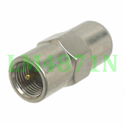 1pce Adapter FME plug male to FME male RF connector straight M/M
