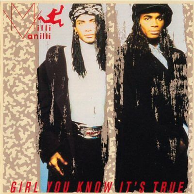 Milli Vanilli - Girl You Know It's True U.s. Cd 1989 10 Trk Blame It On The Rain