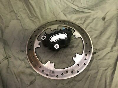 Used Dyna Glide rotor and caliper pulled off 2008 Low Rider