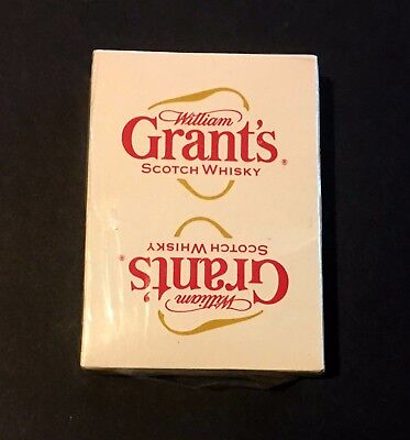 William Grant's Scotch Whisky Playing Cards new in original wrapper.