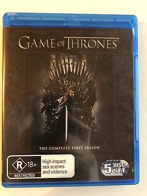 Game of Thrones - Season 1 / Staffel 1 bluray - 5 Discs