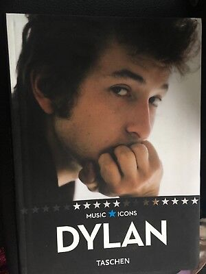 BOB DYLAN-BOOK-Music Icons- by Taschen- soft cover