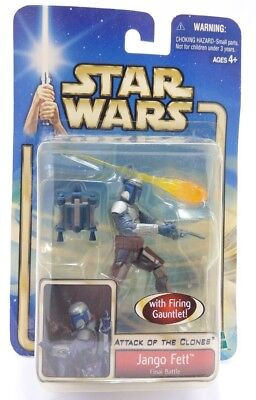 2002 Star Wars Jango Fett Final Batte Unopened In Box Collection #1
