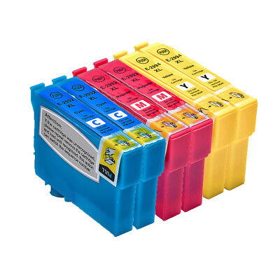 6 Ink Cartridges For Epson XP-235 XP-245 XP-247 XP-332 XP-335 XP-342 XP-345 XL